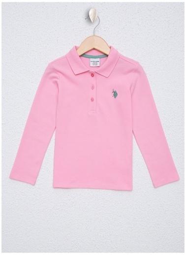 U.S. Polo Assn. Sweatshirt Pembe